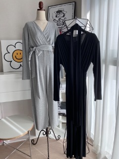 Daily jumpsuit (Gray/ black)